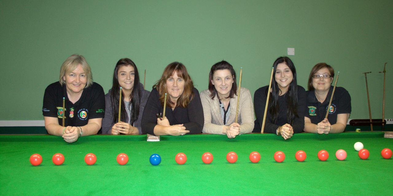 RILSA's newest members at Portarlington Snooker Club