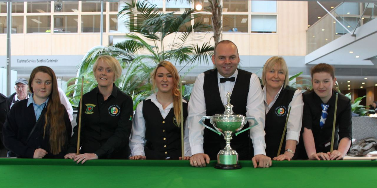 RILSA Promotion day with World Champion Stuart Bingham, Ken Doherty & Fergal O'Brien