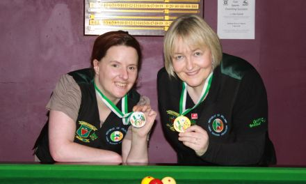 Annette Newman wins RILSA Billiards Ranking 1- The Sharkx Masters in Newbridge