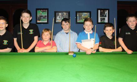 Sean O'Connor takes both the U14 & U15 Stars Academy Junior titles at Sharkx