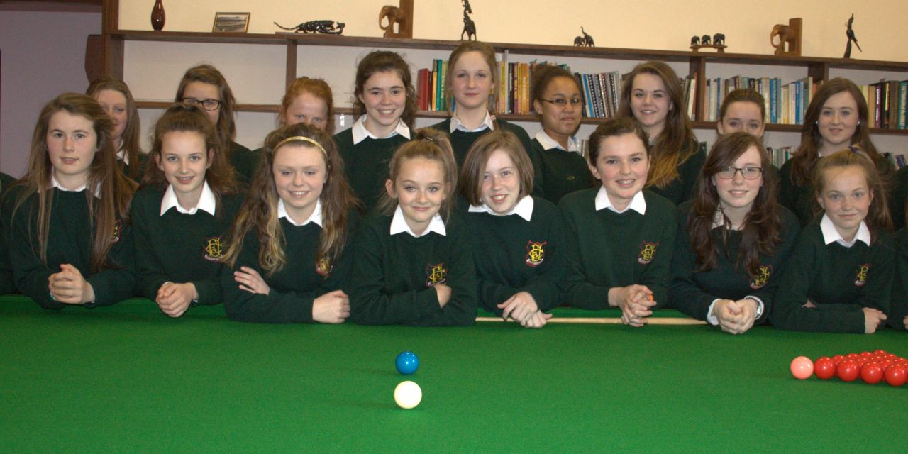 RILSA Announce 300 Schools & Colleges now Members – AMAZING future for Ladies Snooker in Ireland