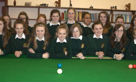 RILSA Announce 300 Schools & Colleges now Members – AMAZING future for Ladies Snooker in Ireland