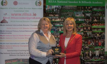 Ann McMahon wins Ladies International Irish Snooker Open at Joey's Dublin