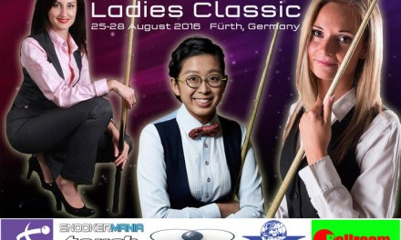 Paul Hunter Ladies Classic – Germany 2016 – The Draw