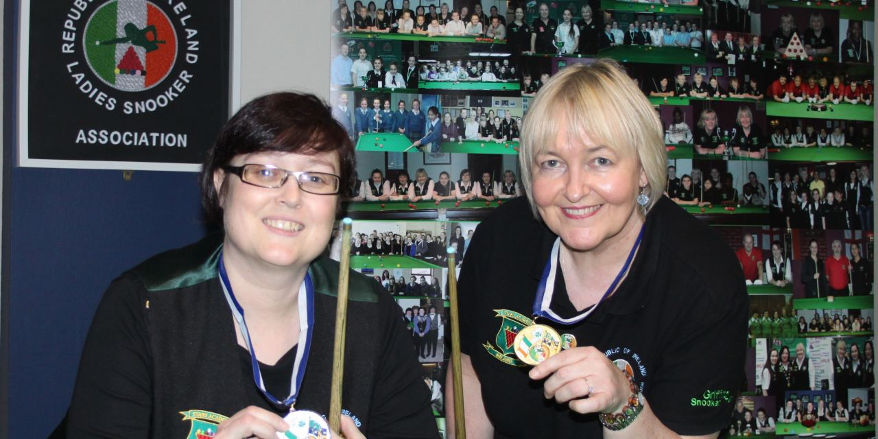 Annette Newman takes all 4 National Billiards titles and secures her Number 1 spot in Ireland