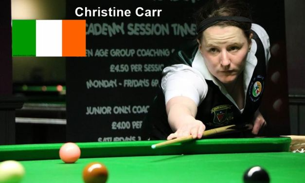 RILSA PLAYER PROFILE – CHRISTINE CARR