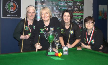 Annette Newman retains her National Billiards Title at the RILSA Academy@Sharkx