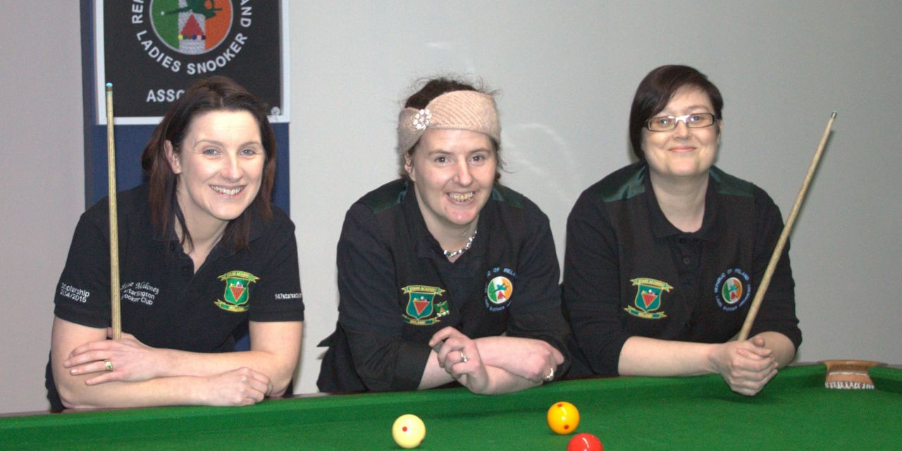 The new season of RILSA Women's Billiards commenced with coaching at Sharkx