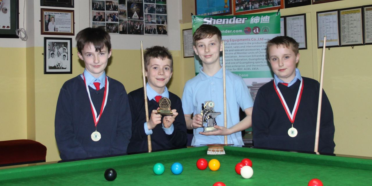 Gavin Dowling from Carlow wins Stars Academy Ireland U/12 Championship