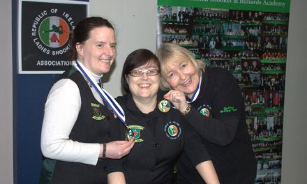 Annette Newman wins RILSA Billiards Ranking 2 at Sharkx