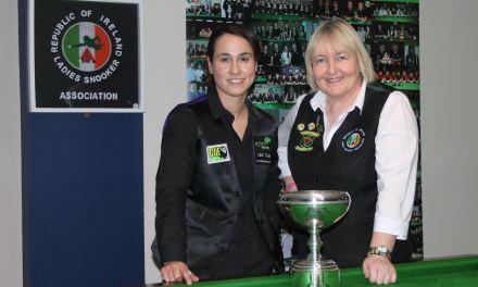 Paula Judge Takes Maureen Butler Cup Title at Sharkx Newbridge