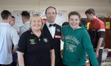 Fergal O'Brien Visits St Marks Special School in Newbridge