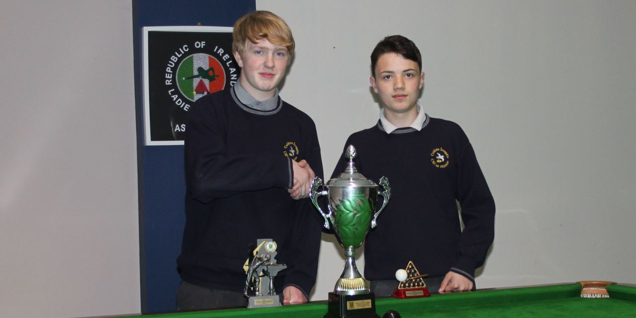 Darragh Fullam Wins U16 Schools National Championship for Colaiste Iosagain Portarlington