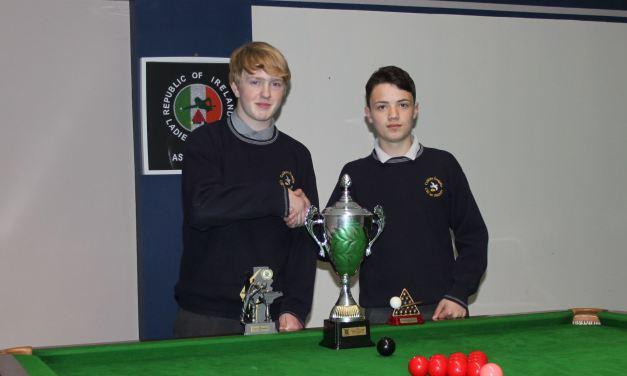 Darragh Fullam Wins U16 Schools National Championship for Colaiste Iosagain Portarlington