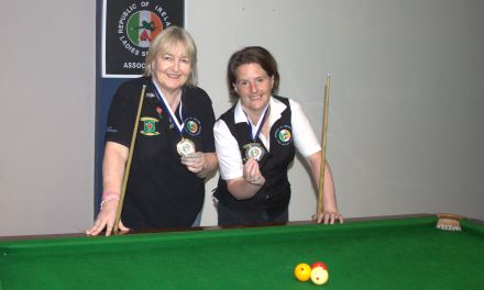Annette Newman Wins Billiards Ranking 4 The Kildare Open @ Sharkx