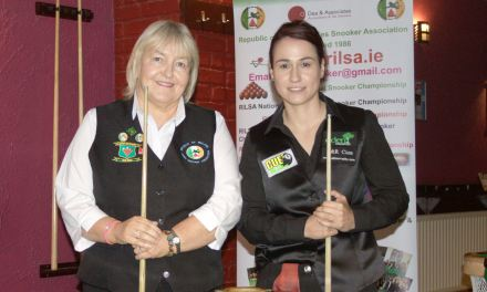 Paula Judge is RILSA Irish Open International Champion 2017