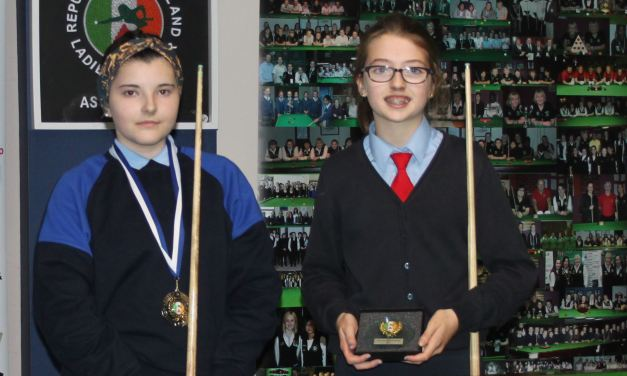 Grace Byrne from Carlow is RILSA National Primary School Champion 2017