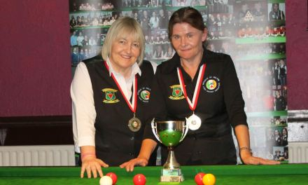 Cathy Dunne wins RILSA Ranking 1 – The Griffith Cup at Joey's Dublin