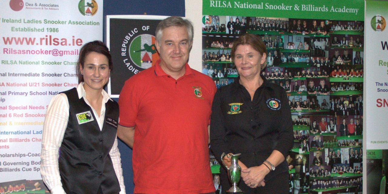 Paula Judge wins RILSA Stars Academy Masters in Newbridge