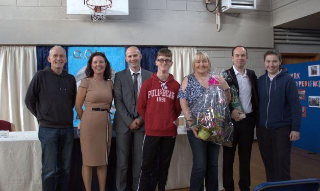 Fergal O'Brien – Presents Fetac Certificates @ St Marks Newbridge