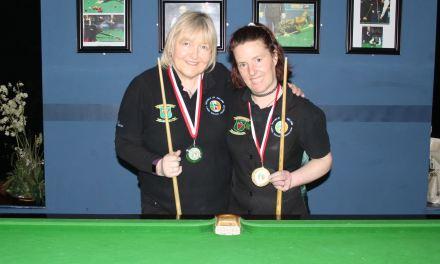 Christine Carr wins her first RILSA Billiards Ranking @ Sharkx Newbridge