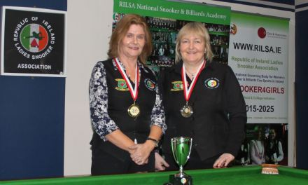 Cathy Dunne is RILSA Kildare Open Champion 2018
