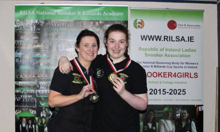 Rachel Bradley wins RILSA Intermediate Ranking 5 in Newbridge