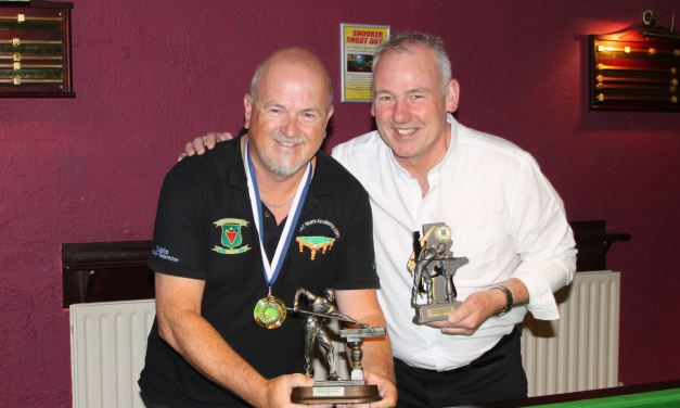 Dave Seales Retains Dublin Snooker Federation Individual Title