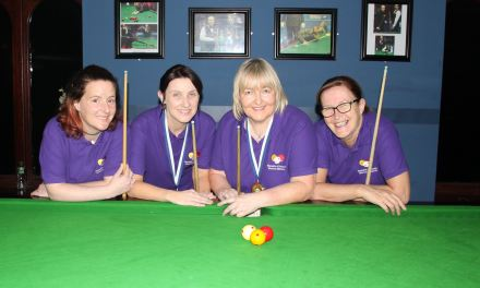 Women's National Billiards Events for the 2019 Season start soon at the RILSA Academy @ Sharkx Newbridge