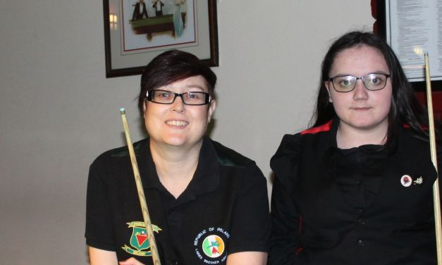Katie French retains her 6 Red Irish Open title at Joey's Dublin