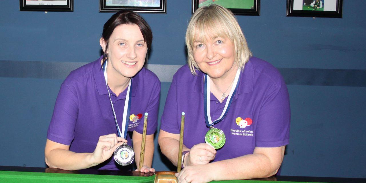 Annette Newman Wins Billiards Ranking 5 at Sharkx Newbridge