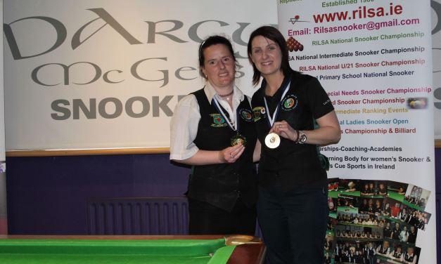 Christine Carr Takes RILSA Intermediate Ranking 1 in Spawell Dublin