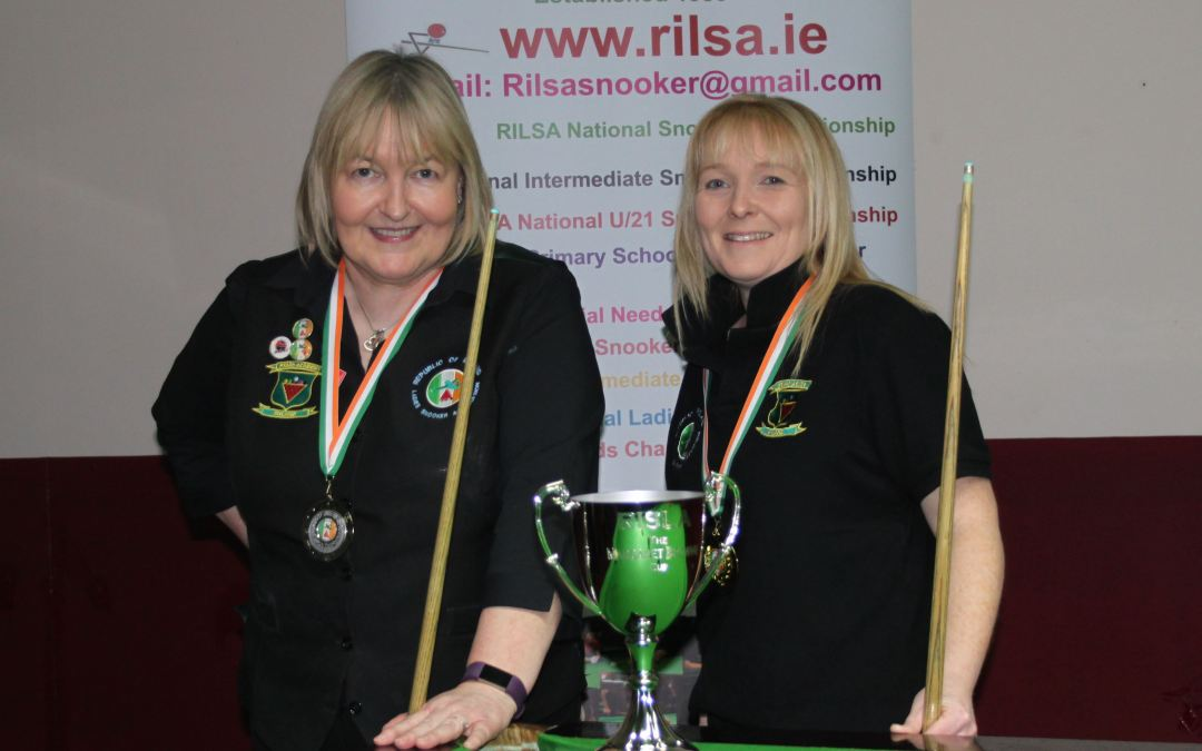 Louise Jordan from Meath wins Inaugural RILSA National 10 Red Championship at The Royal Snooker Club Navan