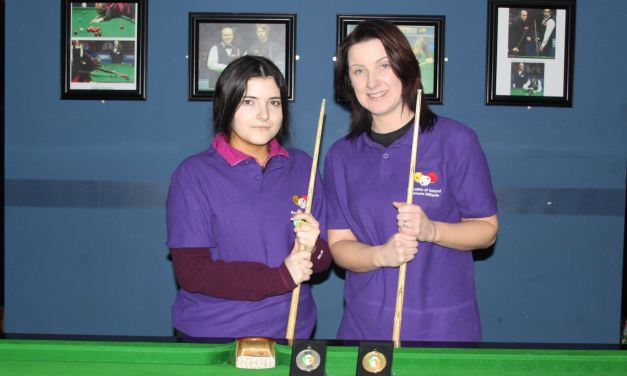 Valerie Maloney Wins Intermediate Billiards Ranking 1 at the RILSA Academy Sharkx Newbridge