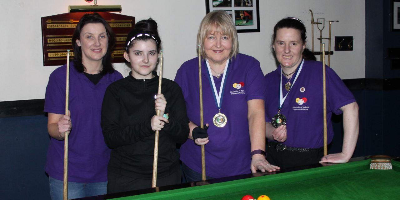 Annette Newman Wins National Billiards Ranking 2 – Sharkx Open in Newbridge