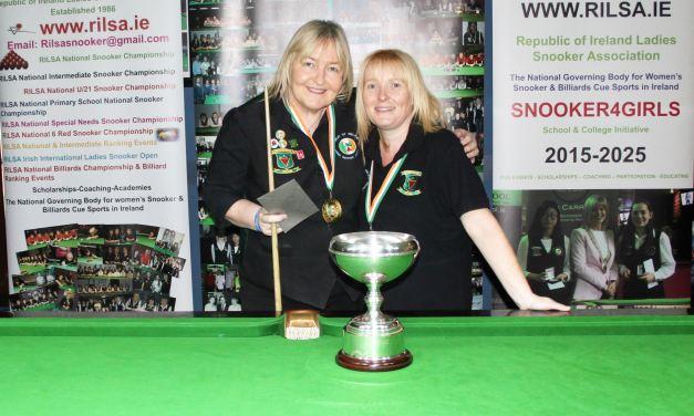 Annette Newman Wins Maureen Butler Cup @Sharkx Newbridge