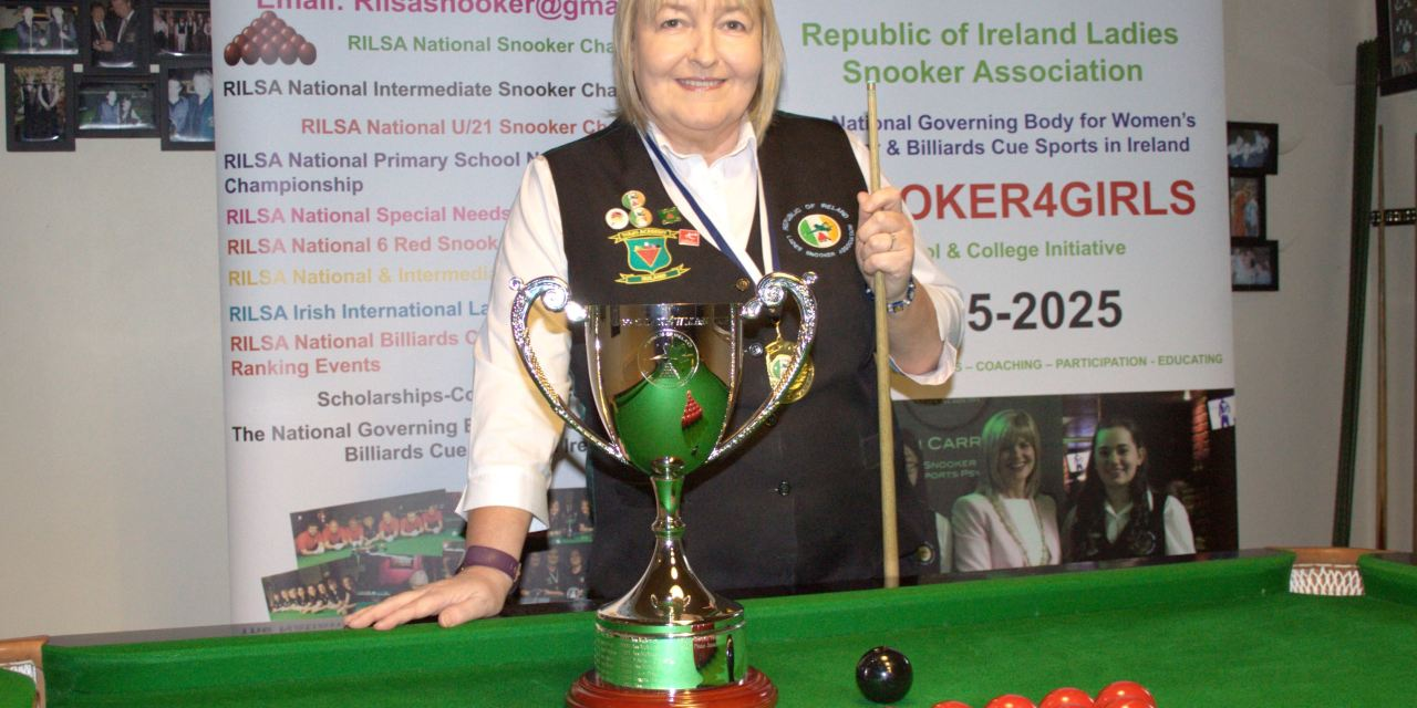 Annette Newman is the 2019 RILSA National Champion @ Spawell Dublin