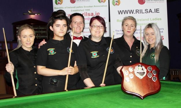 Roisin Beale begins RILSA Intermediate Tour in number 1 spot
