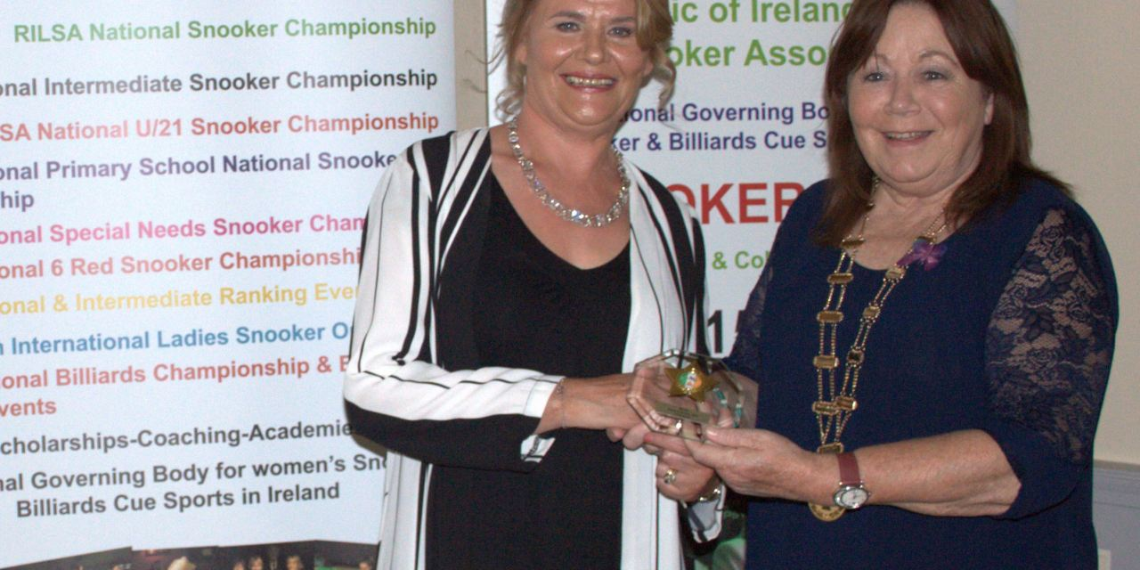 Cathy Dunne is RILSA Player of the Year 2019