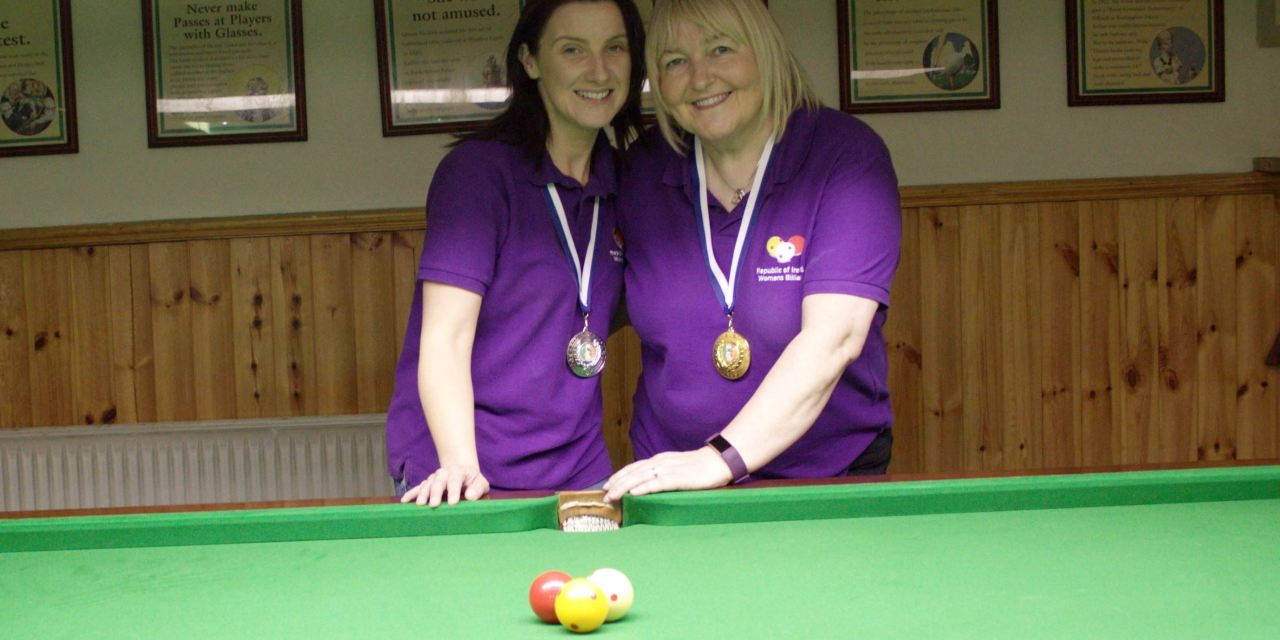Annette Newman Wins Kildare Open – Billiards Ranking 4 @ the CYMS Newbridge