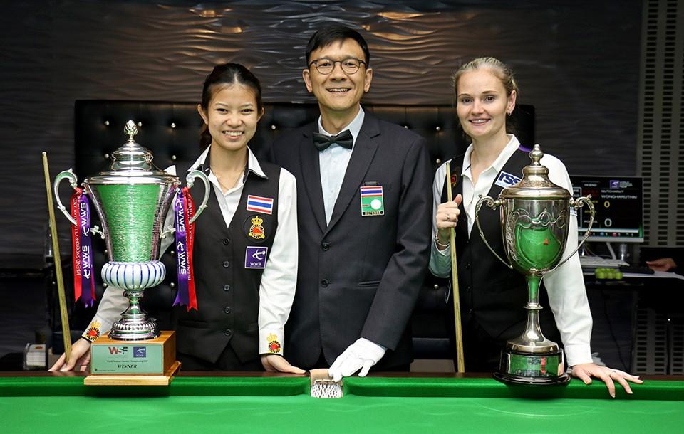 Reanne Evans Wins 12th World Title in Thailand