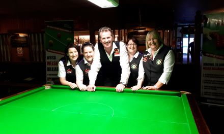 Irish Ladies do us proud in Wales at the World Billiards Welsh Open in Cwmbran