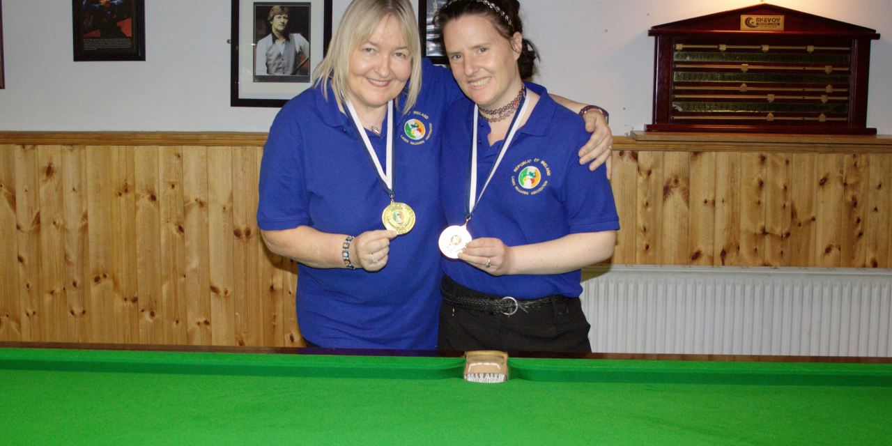 Annette Newman Wins Billiards Ranking 5 The Leinster Open at the CYMS Newbridge
