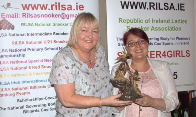 Annette Newman Receives Lifetime Achievement Award from RILSA