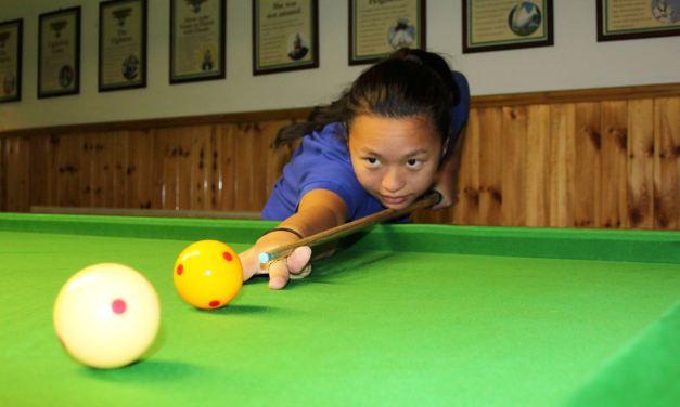 Ladies Billiard coaching in Newbridge