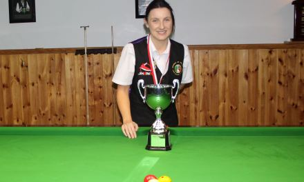 Valerie Maloney Wins the 2019 National Intermediate Billiards Championship in Newbridge