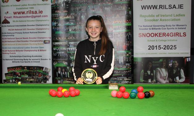 Katie Geraghty Glynn Wins the 2019 RILSA National Primary Schools Championship in Newbridge