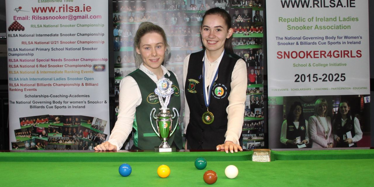 Megan Randle is the 2019 RILSA National U21 Snooker Champion