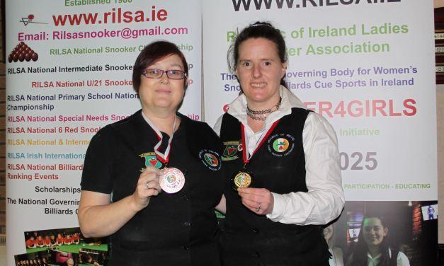 Christine Carr wins RILSA Intermediate Ranking 3 in Celbridge