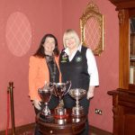 RILSA National Champion in both Snooker & Billiards – Annette Newman meets with the Mayor of Carlow Andrea Dalton